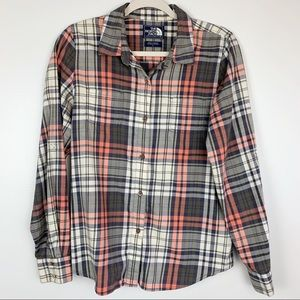 The North Face | Button Down Flannel Plaid Shirt